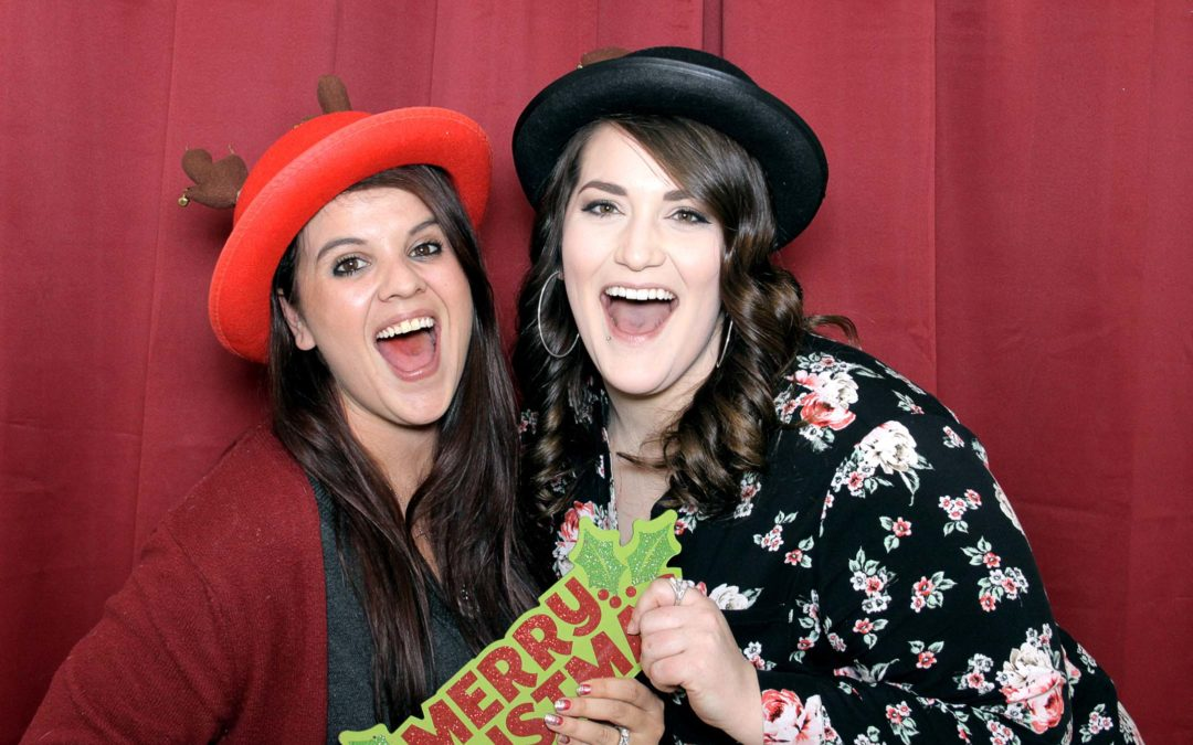 Staff Holiday Party with our Open Air Booth – Photo Booth Rental in
